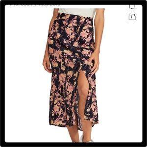 ❤️Free People Retro Love Midi Skirt Size 4